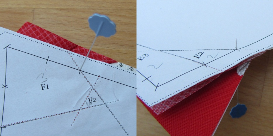 Paper Piecing Tipps