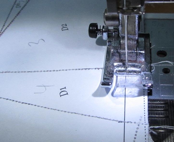 Paper Piecing Tipps