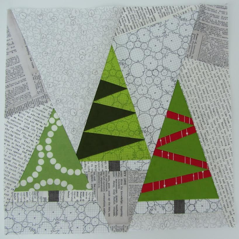 Last Minute Christmas Sampler QAL - Christmas Trees