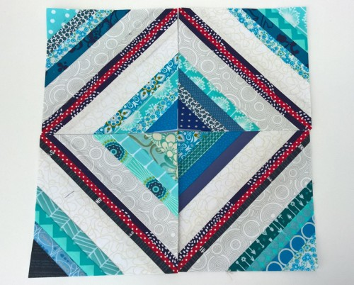 Bee Block Scrappy Blue