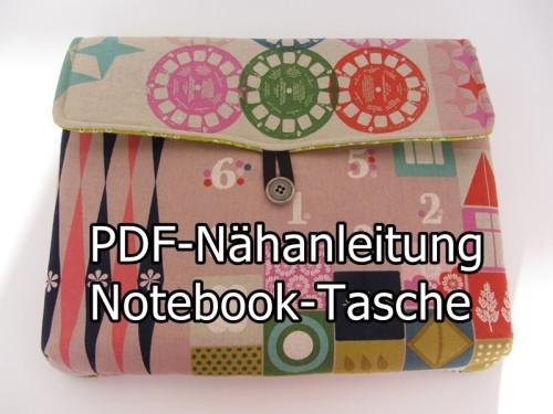 Notebooktasche Nähanleitung