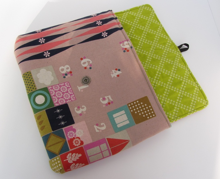 Notebooktasche Nähanleitung – Laptop Sleeve – Stoffbreite.de