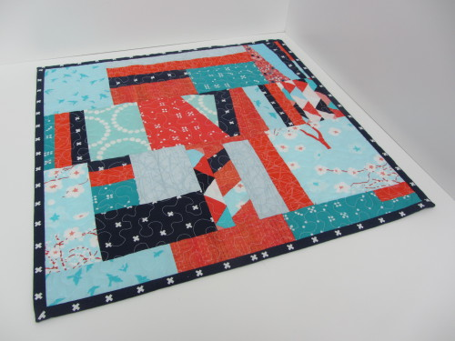 Scrappy Chaos Mini Quilt