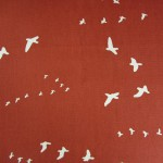 Birch Fabrics - Canvas Flight Paprika