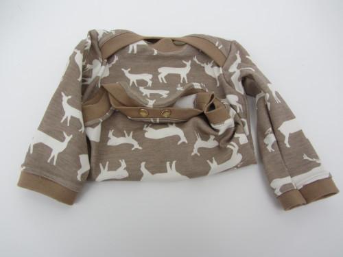 Bio-Jersey Hirsche Birch Fabrics