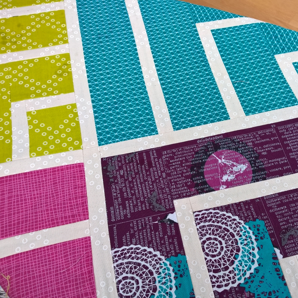 Jelly On Point Quilt Top Quilting Wip Stoffbreite De