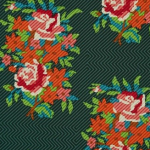 Anna Maria Horner - Dowry - Twill Bouquet Evergreen