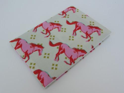 Notizbuchhülle Mustang Pferde