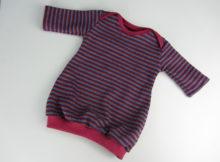 Baby-Ballonkleid Regenbogen Knit Knit